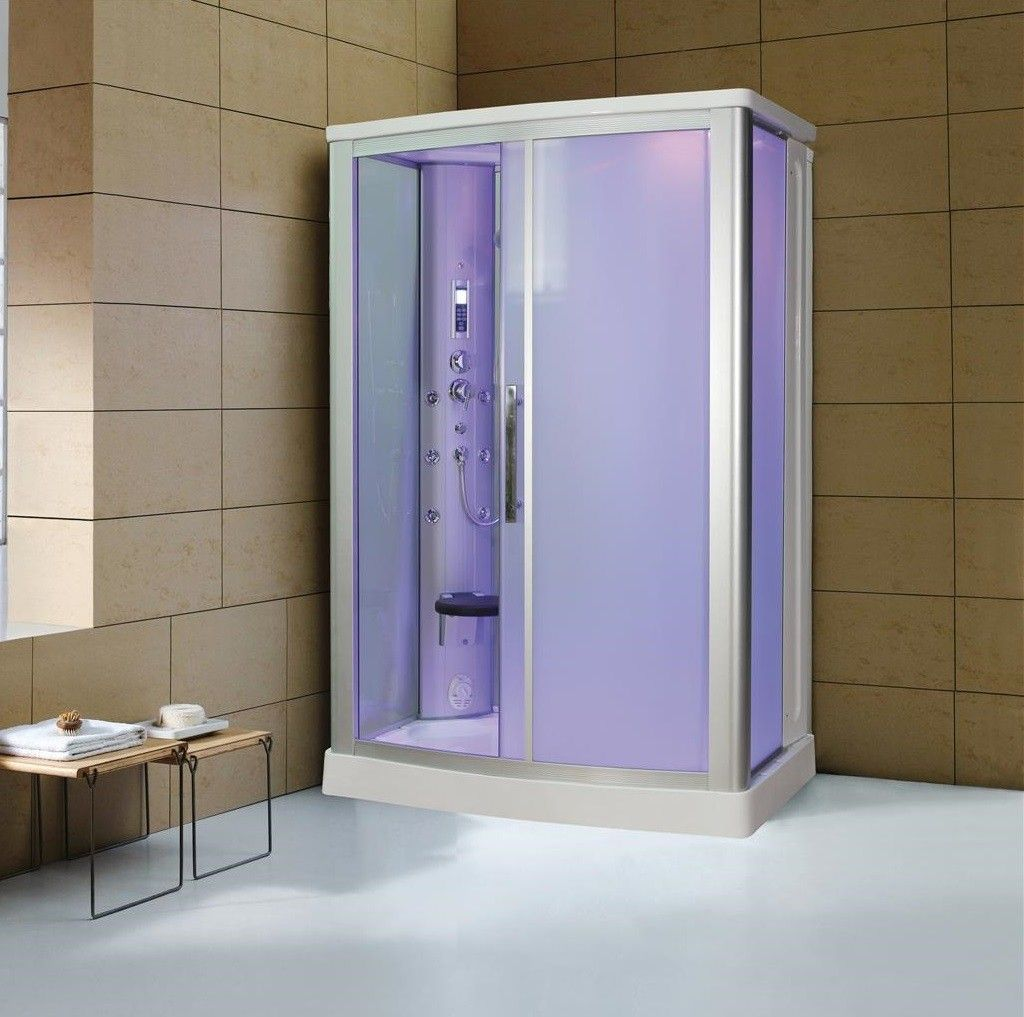 Kokss 9007WS Steam Shower Enclosure Spa Sauna Whirlpool BLUETOOTH ...