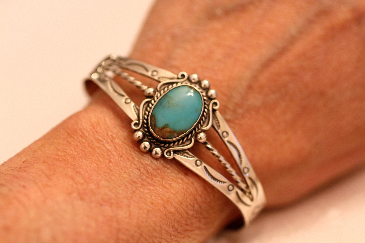 Turquoise navajo cuff signed bell trading sterling warm brown matrix turquoise navajo cuff signed bell trading sterling warm brown matrix sun arrow cloud native american symbols buycottarizona Images