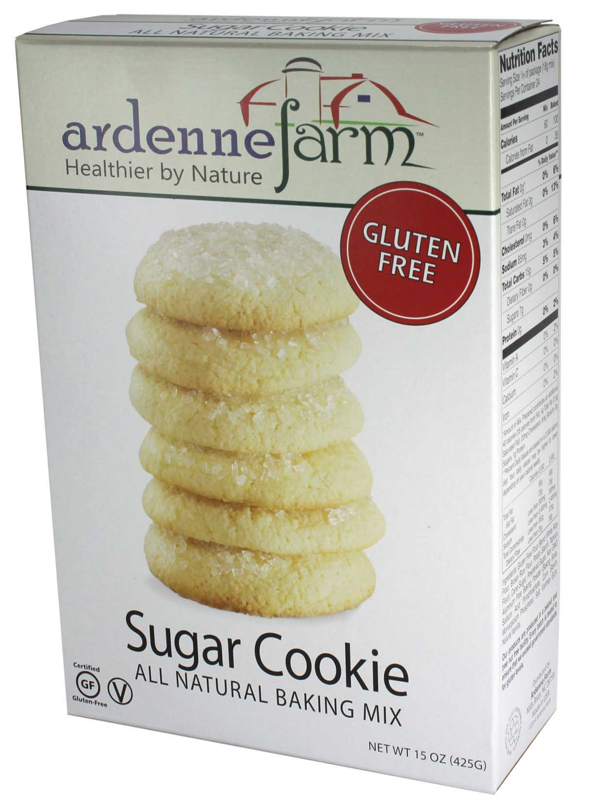 Ardenne Farm's classic Gluten Free Sugar Cookie Mix makes ...