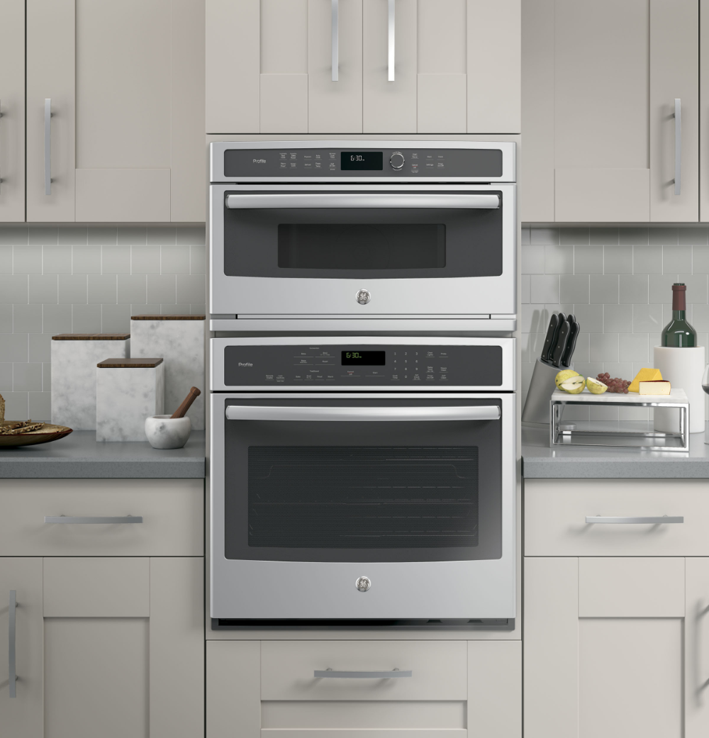 Ge Profile Built In Microwave Convection Oven Pwb7030slss Ge Appliances Convection Wall Oven Wall Oven Built In Microwave