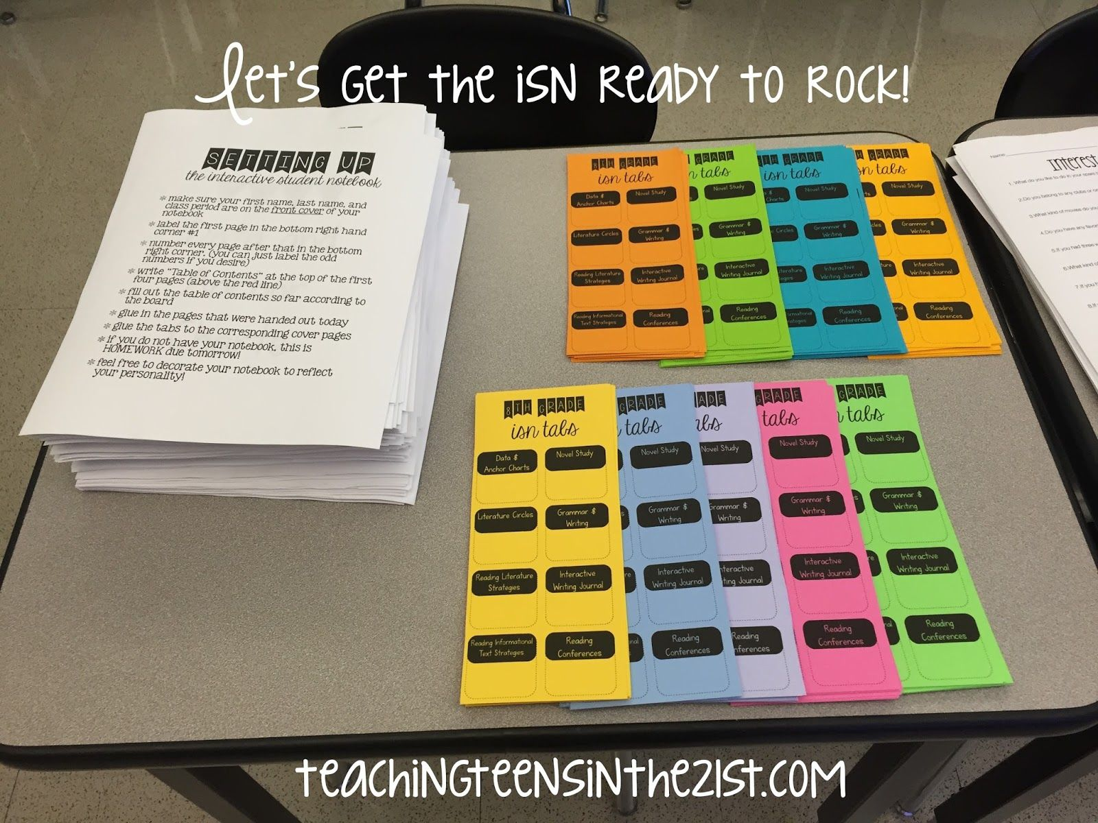 Teaching Teens in the 21st: First week is in the books!