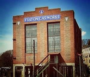 Megan's Map: Inside the Abandoned Building, Fulton Gas Works