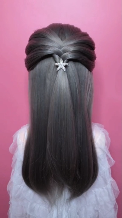 Braided Hairstyle For Long Hair Video Tutorial Simple And Beautiful Beautiful Braided Hair Hairstyle Long Simple In 2020 Hair Styles Long Hair Video Hair Videos