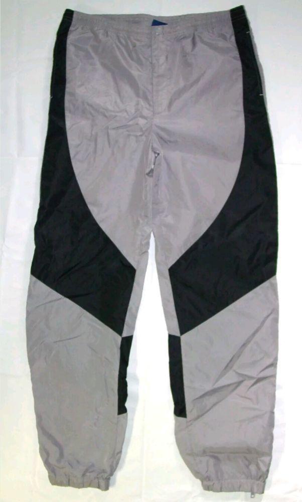 90ec92b9f63f Vtg OG BLUE TAG Nike Air Jordan 1 Pants Black Shadow Grey 1985 1986 XL shoes   Nike  Pants