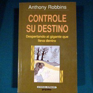Controle Su Destino Amazon Es Anthony Robbins Libros Destino Libros Lectura