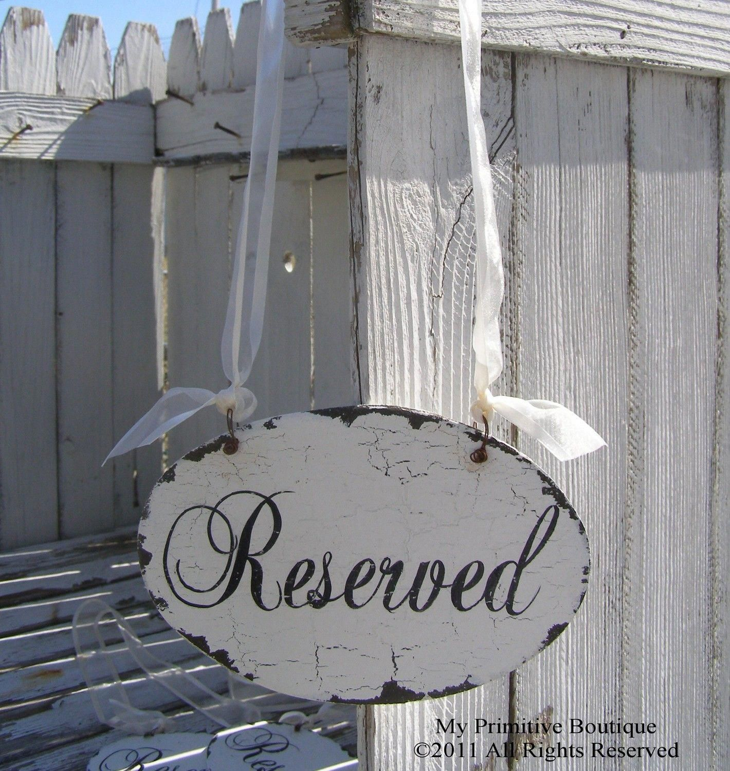 Modern Bride Reserved wedding signs, Wedding signs