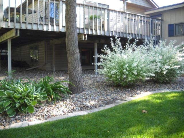 Images Of Landscaping Around Deck : Landscape around deck landscapes decks