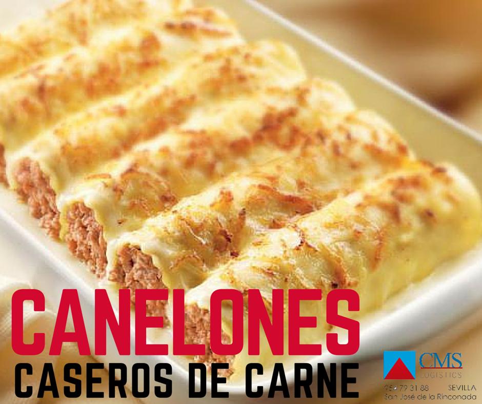 CANELONES CASEROS Y DE CARNE  http://cmslogistics.es/lasanas-y-canelones/157-canelones-caseros-y-de-carne.html
