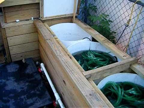 Home made pond bio filter for koi pond 3000 gallon ponds for Koi pond pool filter