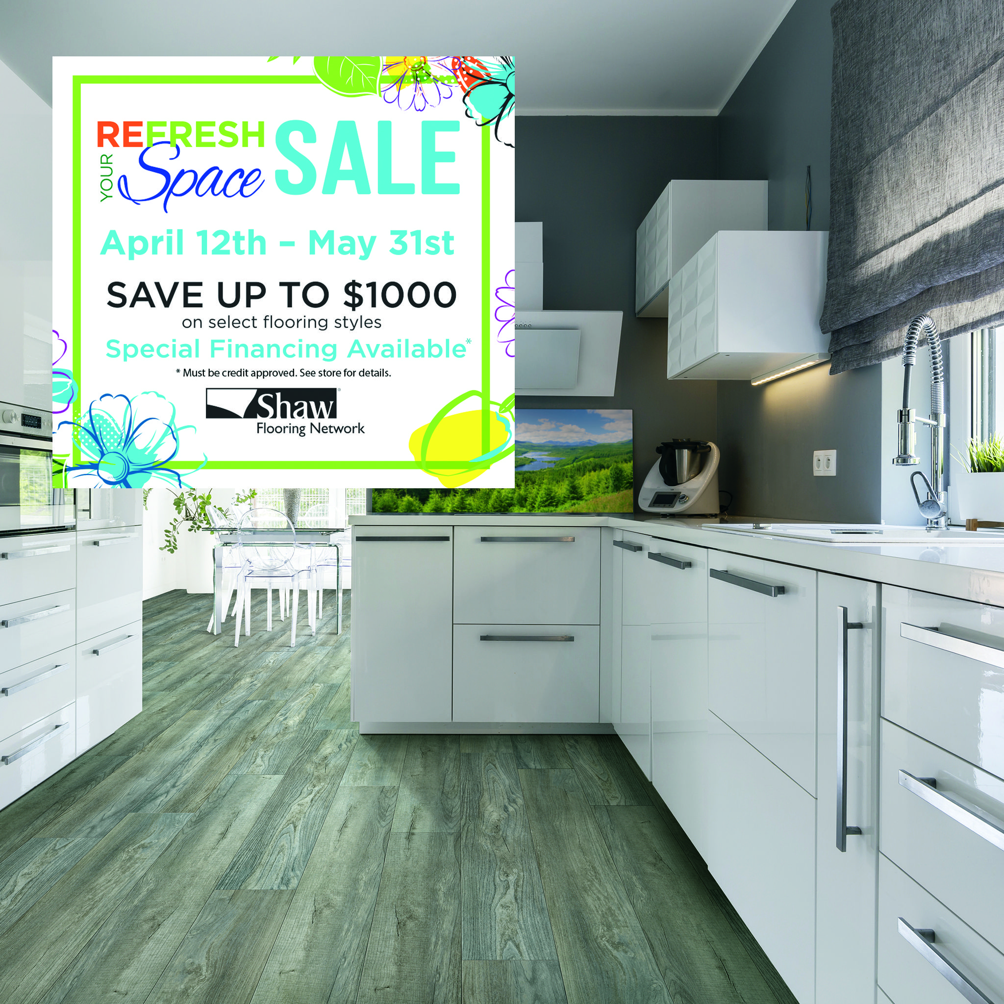 Want A Deal On New Flooring We Ve Got One For You From Now Until May 31 You Can Save Up To 1000 On Select Styles Of Sh Shaw Flooring Flooring Sale Flooring