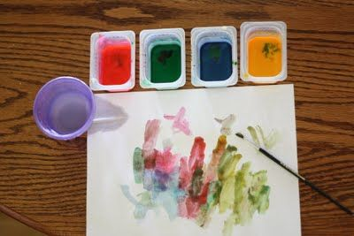Homemade Watercolors Homemade Watercolors Homemade Art Art For