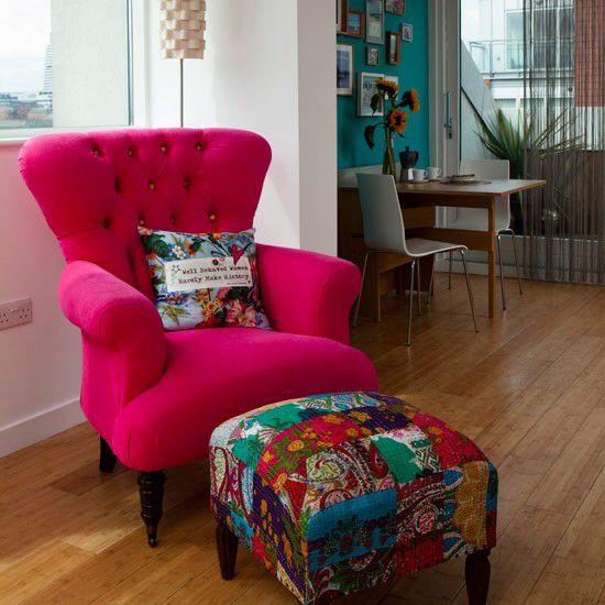 Poltrona De Leitura Colourful Living Room Small Chair For Bedroom Home Small living room chairs uk