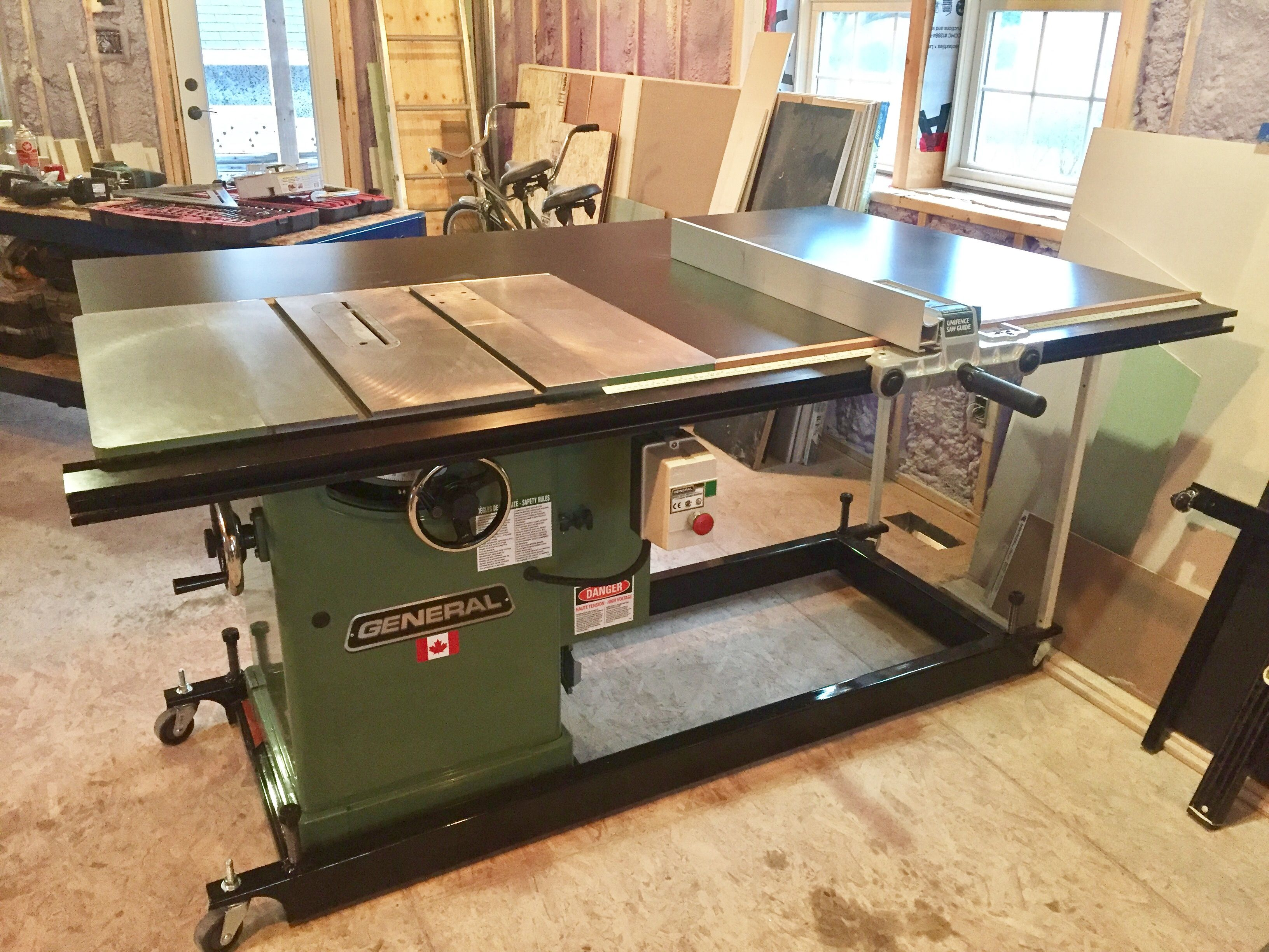 General 350 Cabinet Saw Cabinet Table Saw Table Saw Portable Table Saw