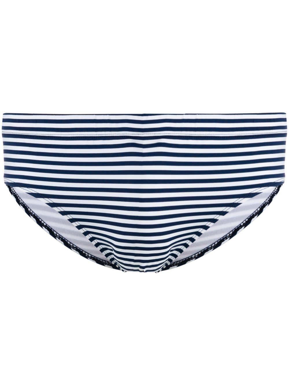 95203a6cff RON DORFF RON DORFF STRIPED SWIMMING TRUNKS - BLUE. #rondorff #cloth ...