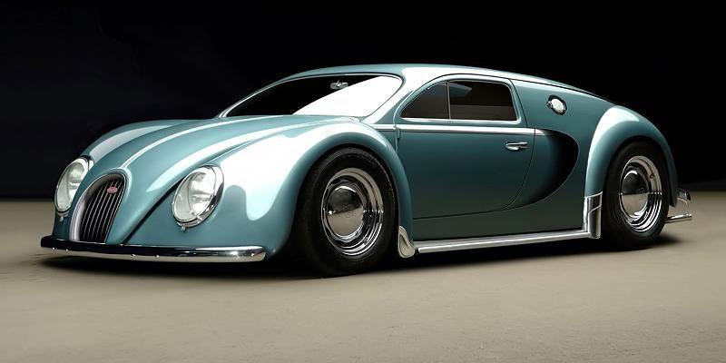 Dieser Bugatti Veyron ist ein VW Käfer