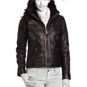 Womens leather bomber jackets for sale – Modern fashion jacket ...