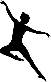 Jazz Dancer silhouette … | Art in Motion | Dance…