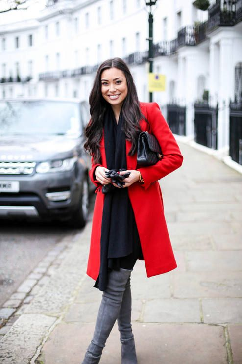 Red Chic Coat