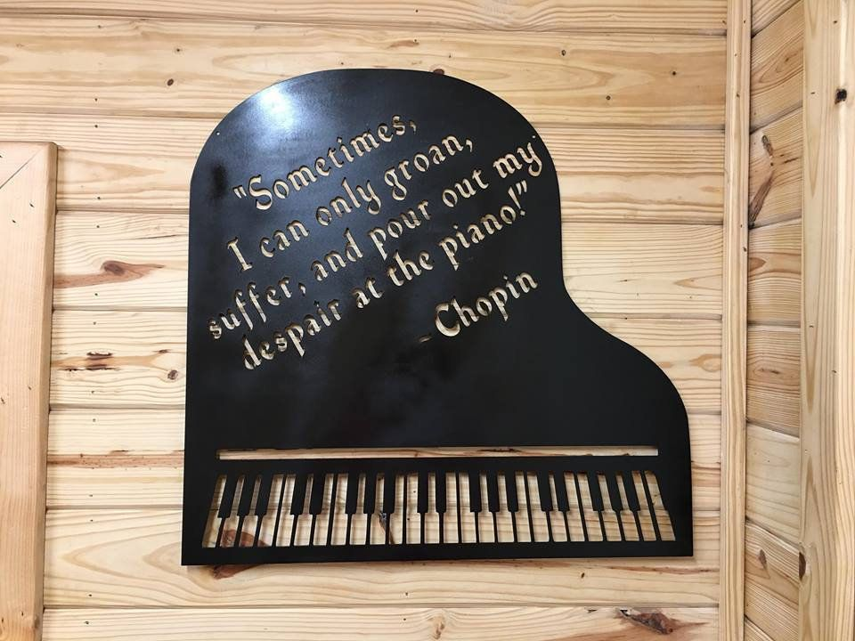 Etsyshop Magnetic Sheet Music Holder Piano Art Musical