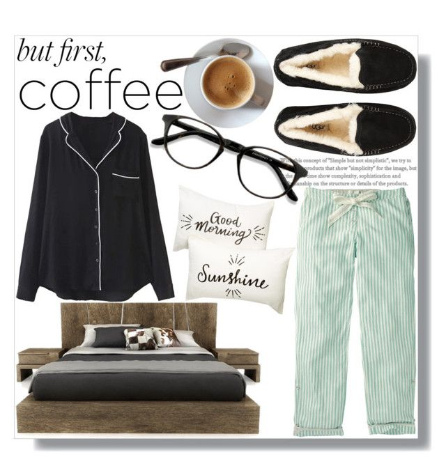 """""""Caffeine Fix: Coffee Break"""" by sc-styles ❤ liked on Polyvore featuring UGG, Fat Face, WithChic, Huppé, Nordstrom Rack and EyeBuyDirect.com"""