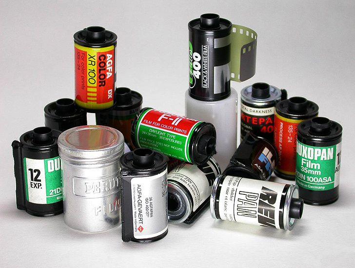 Kleinbildfilm 24 x 36 mm