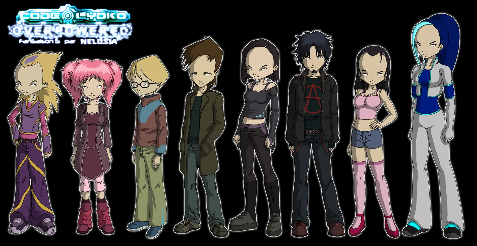 """Code Lyoko Overpowered"" is a fancreated ""fifth season"