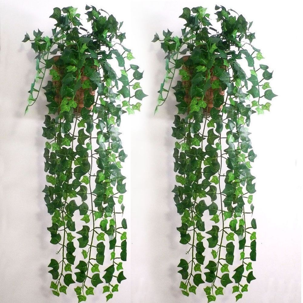 7 5 pi artificielle feuille de lierre garland vine faux for Plante artificielle jardin