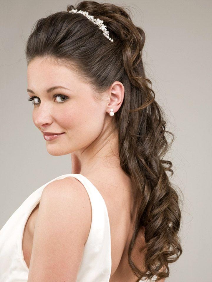Penteados 30 Noivas Com Cabelo Semi Preso Penteados Noiva