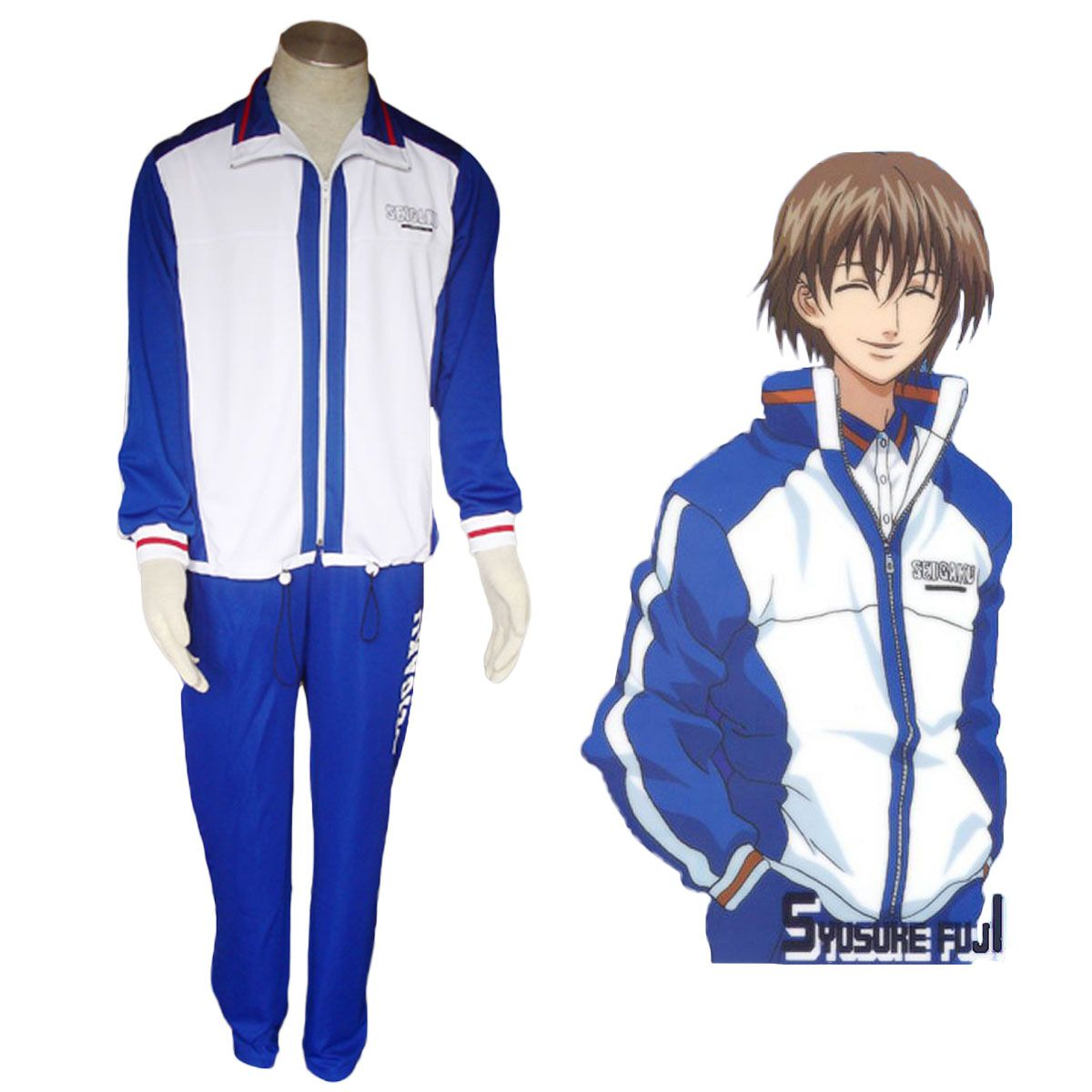 Deluxe The Prince of Tennis Youth Academy Winter Uniforms Cosplay Costumes