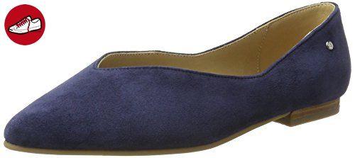 Marc O'Polo Damen 70214003001302 Ballerina Geschlossene Ballerinas, Blau  (Dark Blue),