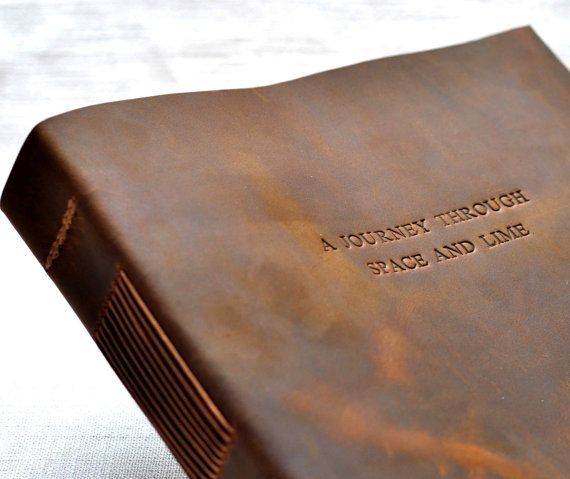 Retro Style Leather Wedding Guest Book Vintage Books For Personalized Gift
