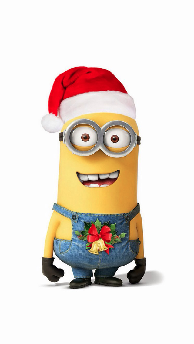 Minions Christmas.Pin On Iphone 8 Iphone X Wallpapers Cases More