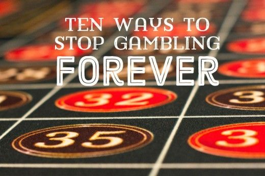 How to stop gambling forever financial help for gamblers