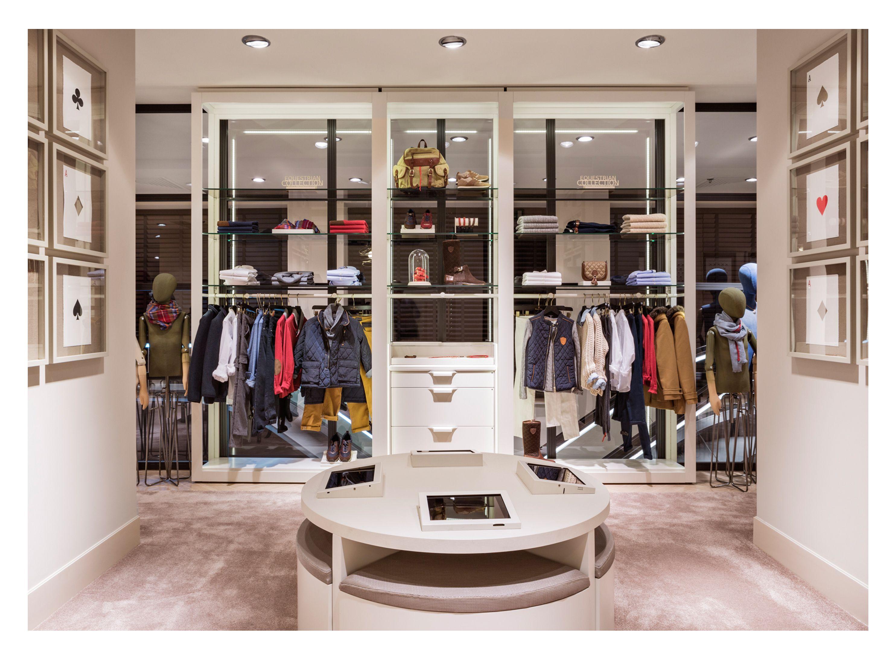 Massimo Dutti Flagship Store Serrano 48 Madrid Second Floor  # Muebles De Massimo Dutti