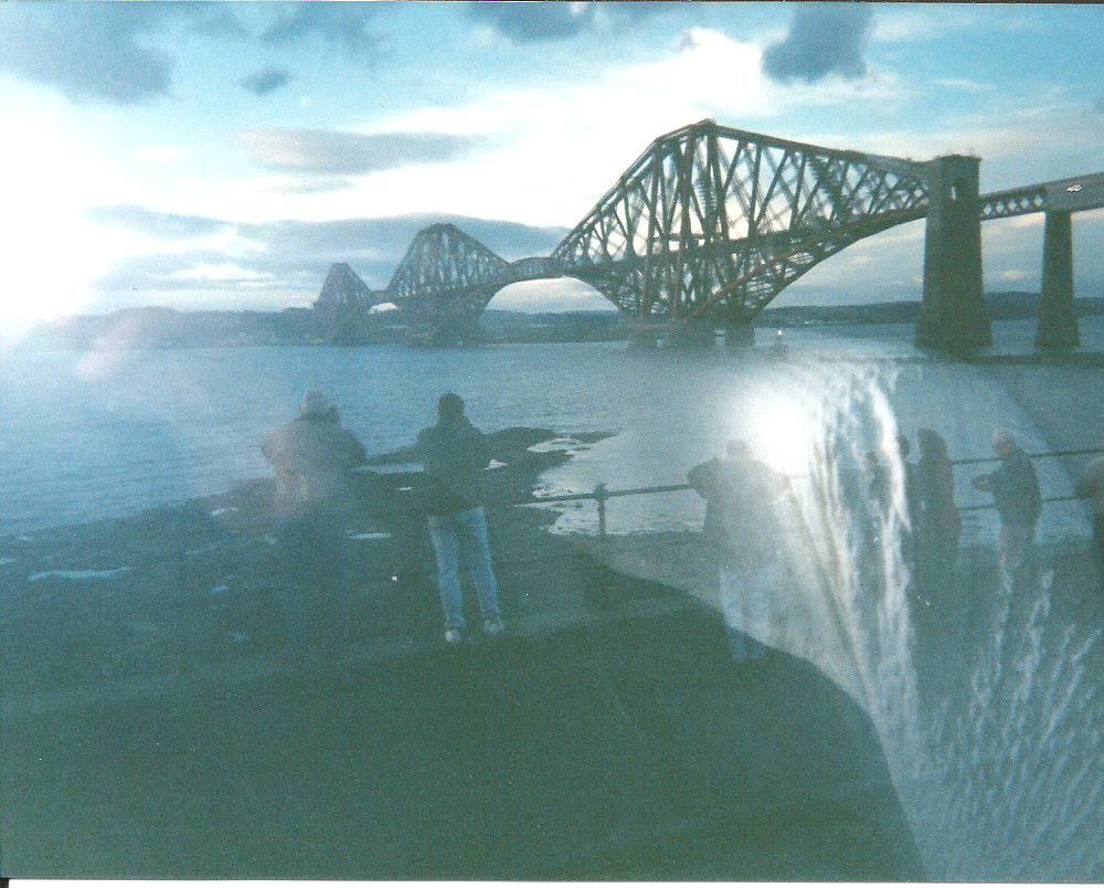 A Bridge in Scotland (Photo by Jean DiCiolla - September, 1997.  Picture was taken from our tour bus)