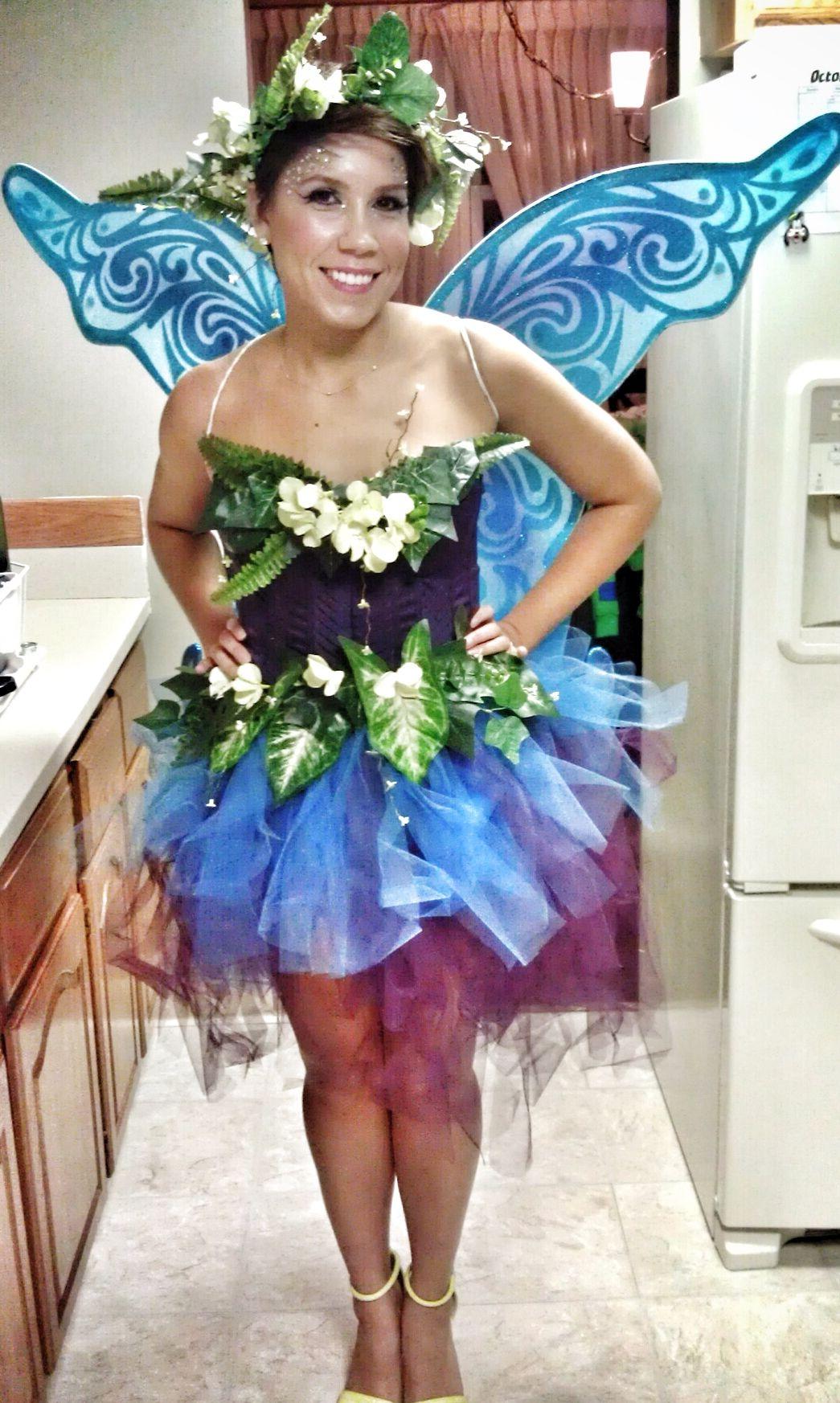 Fairy Costume Halloween Diy In 2019 Fairy Costume Diy