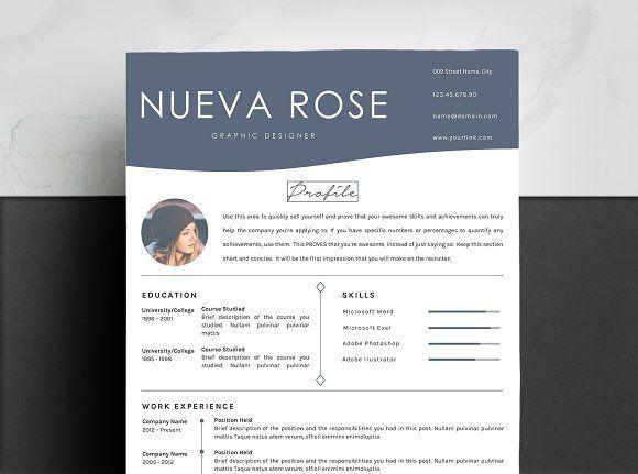 Creative Resume Template byGraphicsauthor