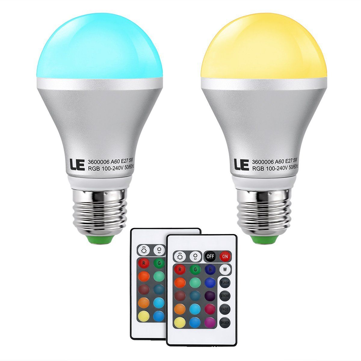 How To Change The Color Of An Led Light Krm Light Led Light Bulbs Rgb Led Lights Led Lights