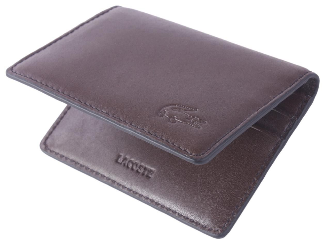 ccd928199 Lacoste Wallet - Brown Pass Holder Wallet  Lacoste  Mens  Wallet ...