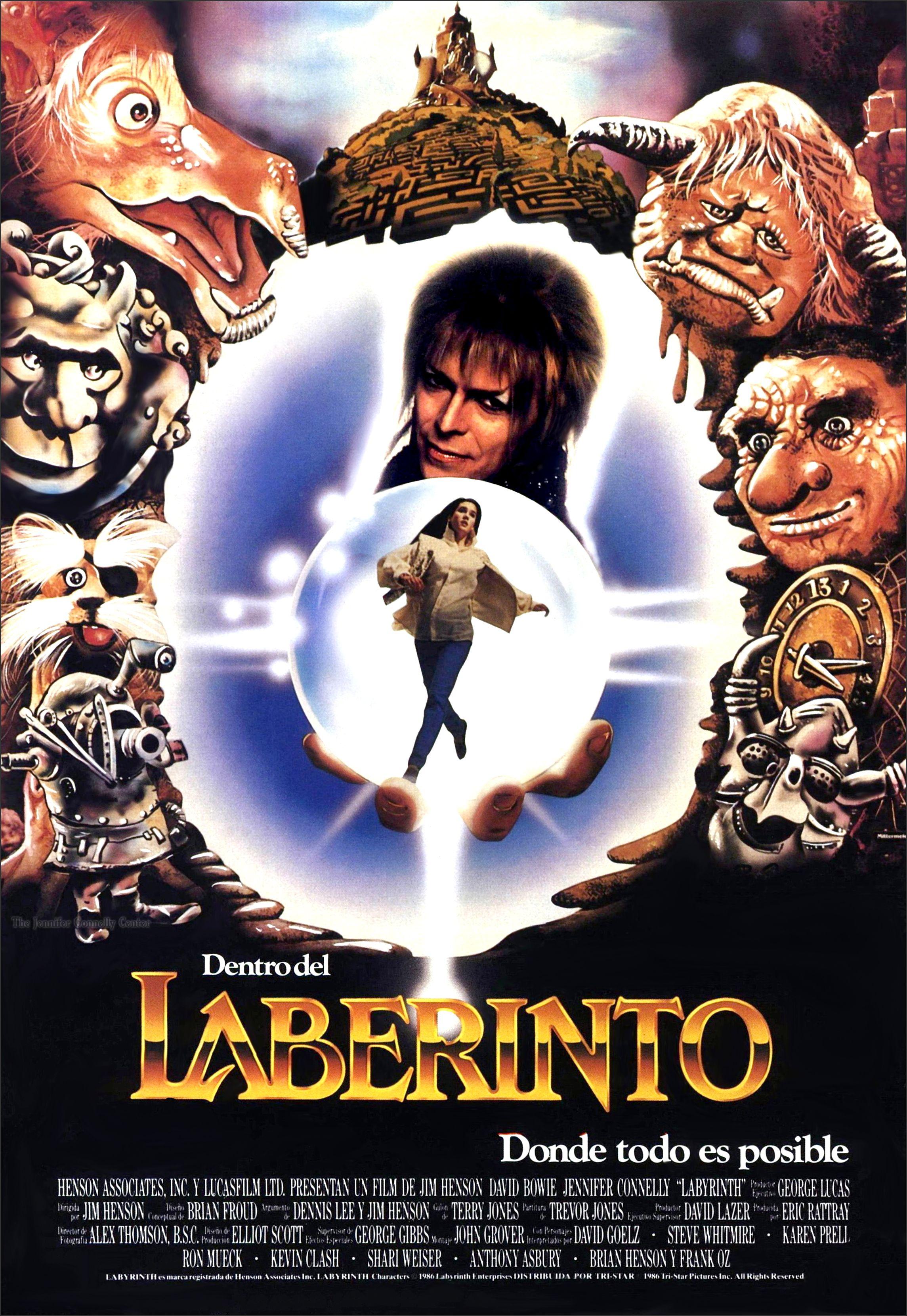 Poster Espanha Poster Labirinto Filmes