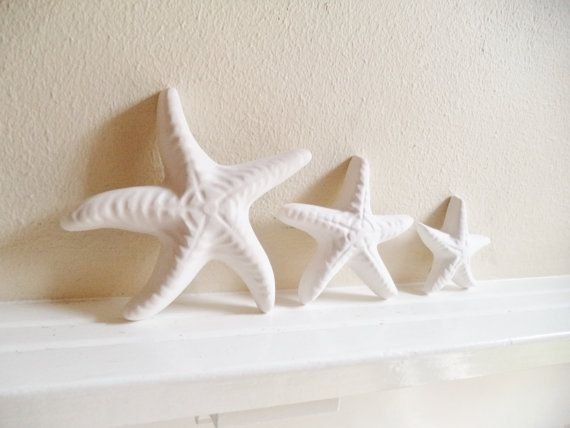 Delightful Seahorse And Starfish Wall Hanging Sculptures By RedwoodStoneworks