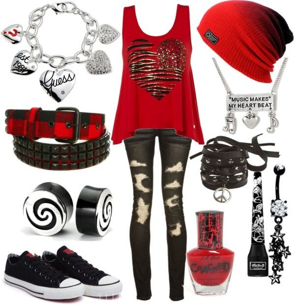 Pin By Elizabeth Perez On Outfits | Pinterest | Google Clothes And Emo