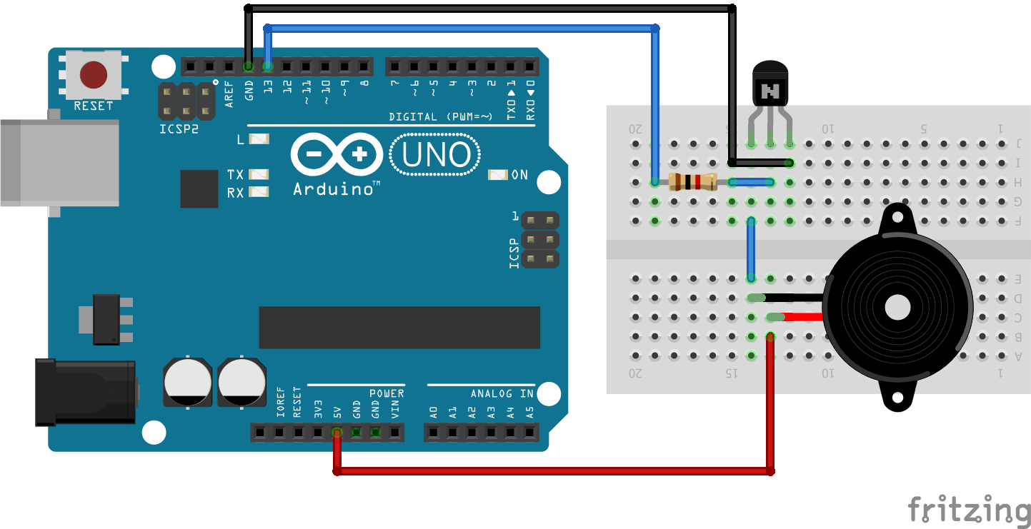 Arduino Piezo Buzzer Interfacing Tutorial Explains Programming And In A Circuit Code Step By Complete Series Of Tutorials For Beginners Available Here