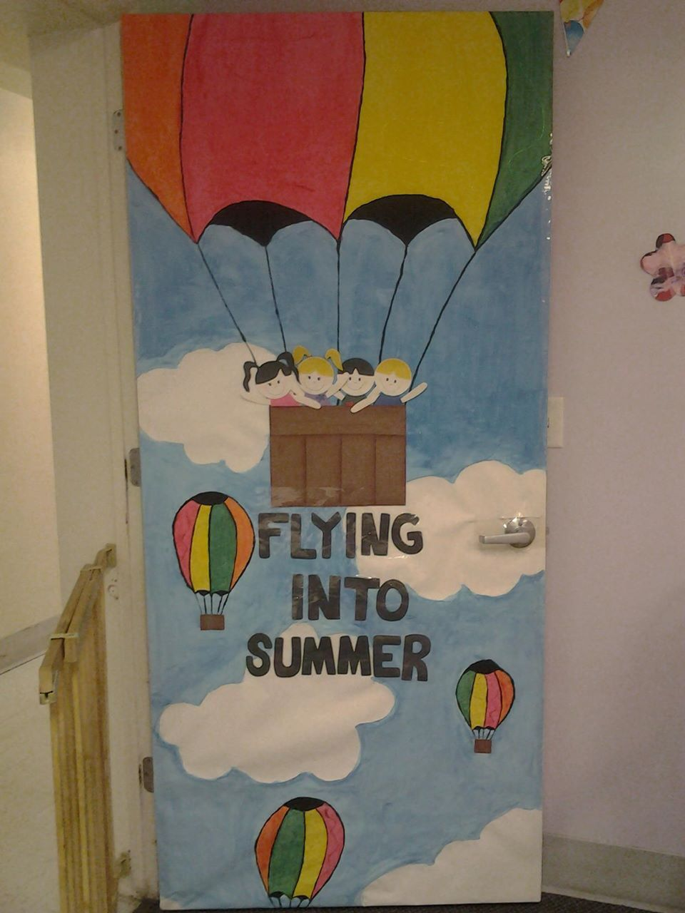 Classroom Door Decoration Ideas Summer : Missing my toddlers room classroom door decoration for