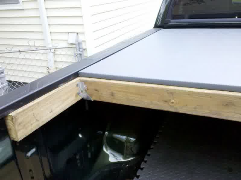 Homemade Truck Bed Cover Plans Trucks Modification Truck Bed