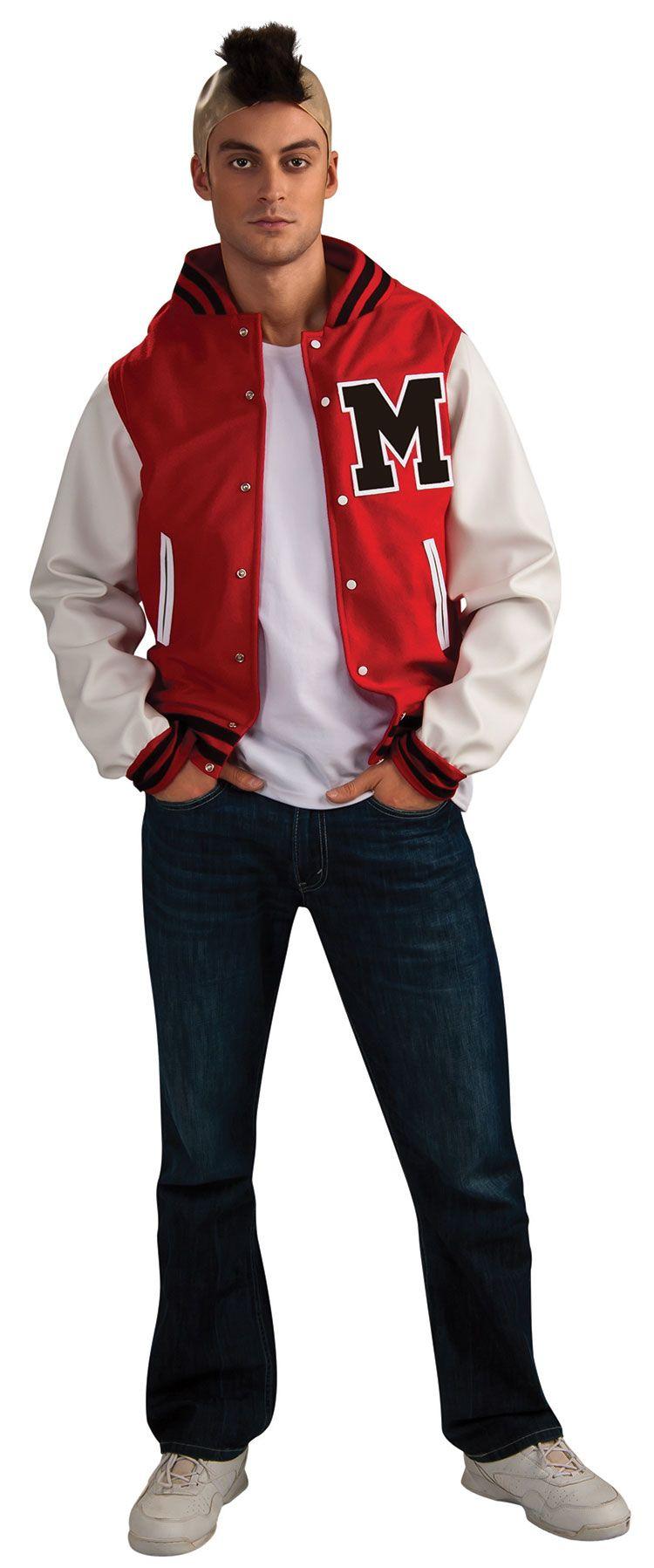 glee adult puck football player costume jacket 4999 tvstoreonlinewishlist - Puck Bunny Halloween Costume