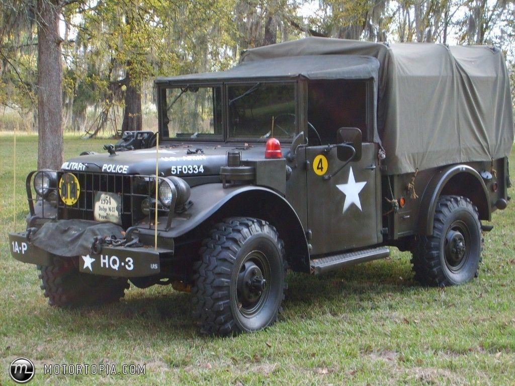 M37 dodge power wagon