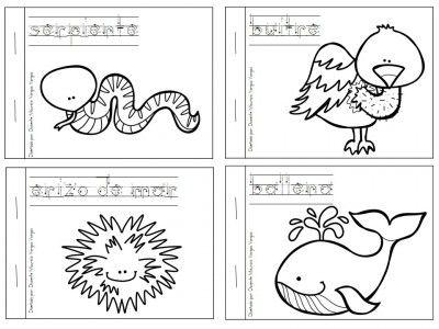 Mi libro de colorear de animales salvajes | Templates | Pinterest ...