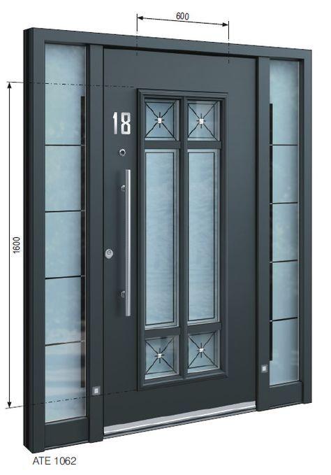 Front doors    Custom-made dream doors    Inotherm ATE 1062    Inothe …