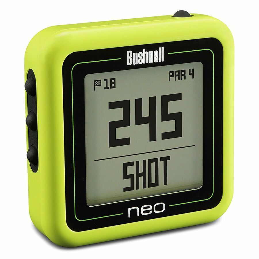 Bushnell Neo Ghost Compact Golf GPS Rangefinder, Green